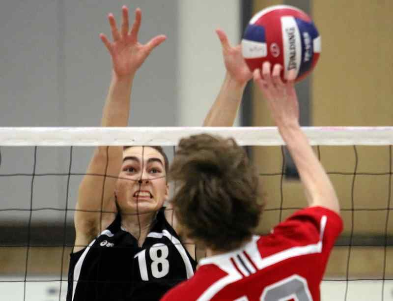 Top Seeded Pacific Collegiate Tops Carmel Advances To Ccs Boys Volleyball Championship Volleyball Collegiate Retirement Parties