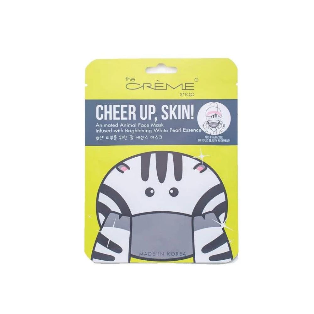 Cheer up, Skin! (Zebra Face Mask) Hyaluronic & Pearl