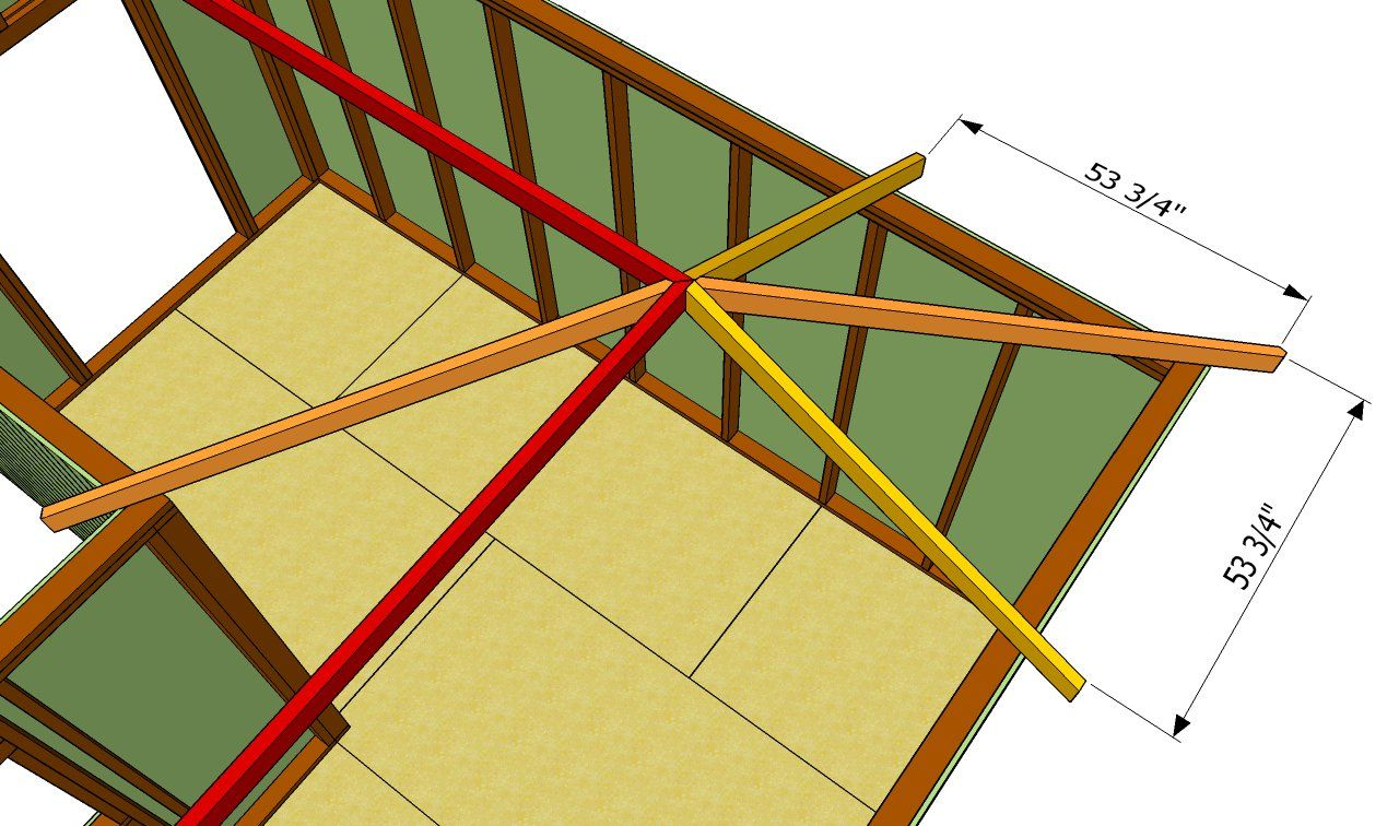 How To Build An L Shaped Roof Howtospecialist How To Build Step By Step Diy Plans L Shaped House L Shape Diy Shed Plans