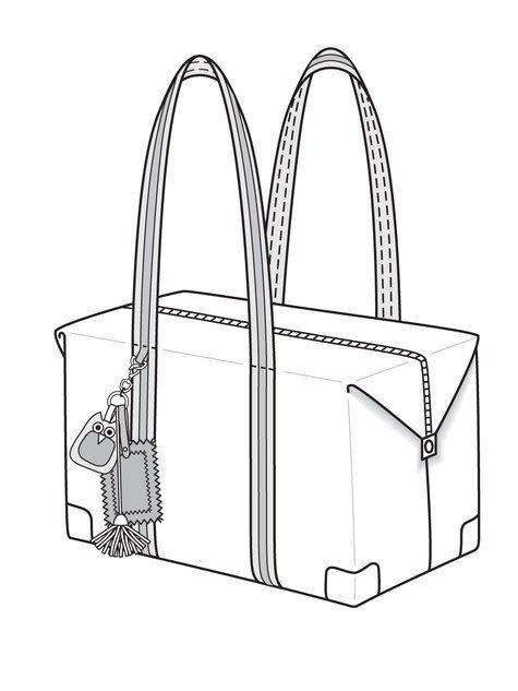 Overnight Bag 12 2010 142 Sewing Handbags Totes Bag