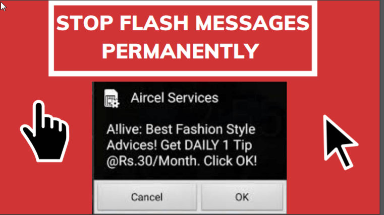 Stop Flash Messages Permanently Step By Step With Alternate Methods Messages Flash Good Communication
