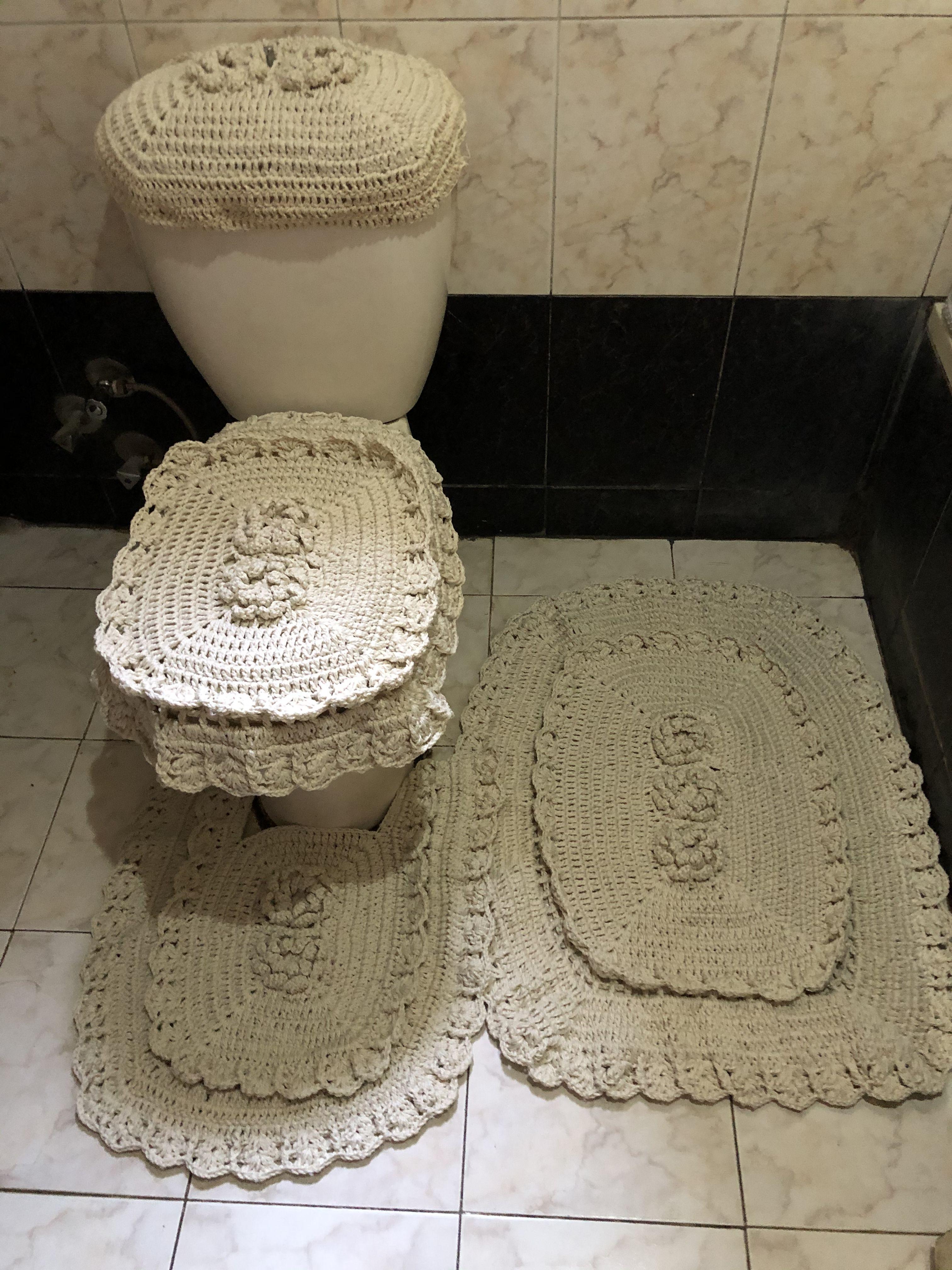 Pin By سلمي الزامك On اطقم حمام Home Decor Decor Bath Mat
