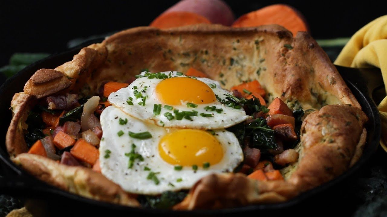 How To Make A Savory Dutch Baby • Tasty - YouTube in 2020 ...