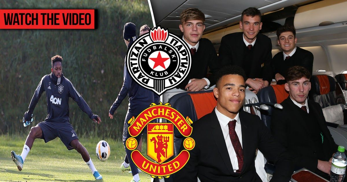 Manchester United Squad Train Ahead Of Partizan Manchester United Vs Partizan Be In 2020 Manchester United Manchester United Premier League Lingard Manchester United