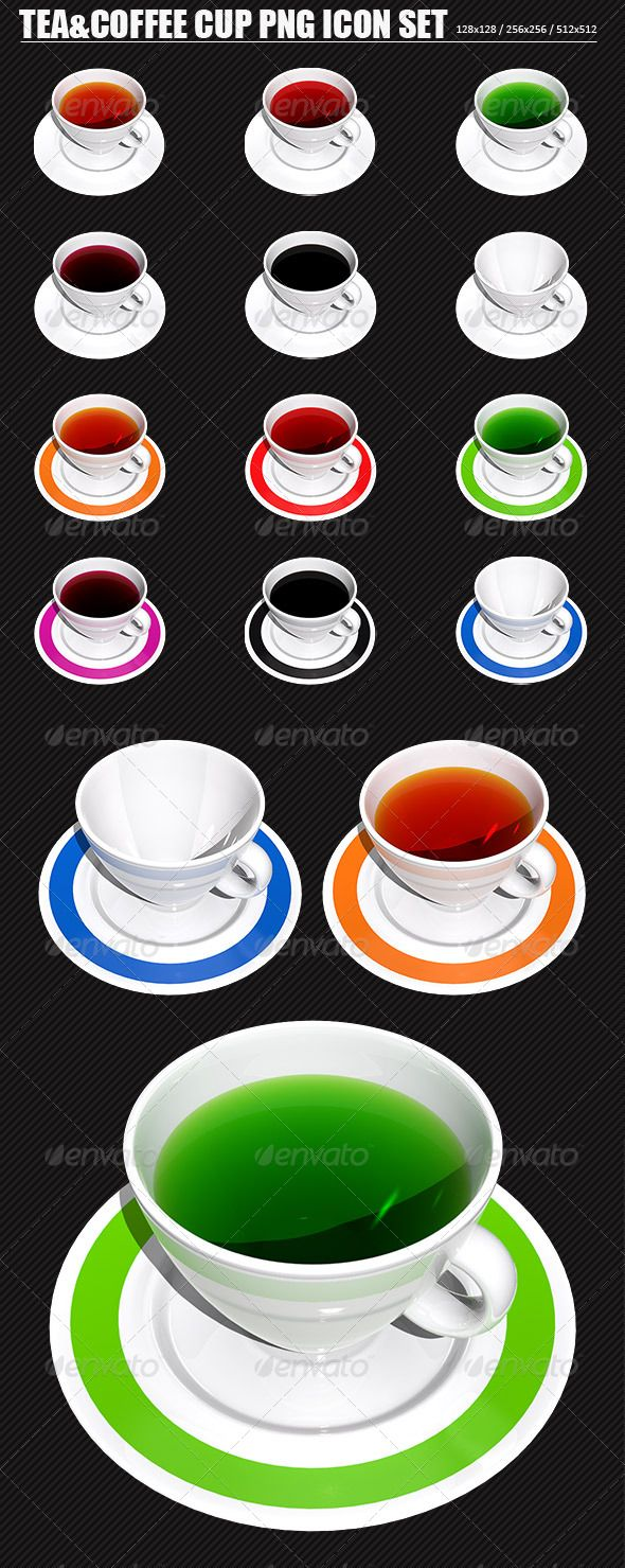 Tea And Coffee Cup Png Icon Set Coffee Cup Icon Png Icons Icon Set
