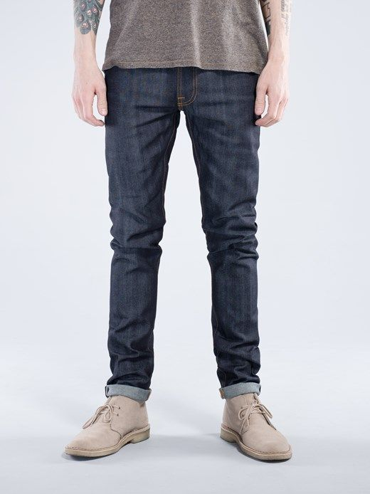 Tape Ted Dry Selvage Comfort - Nudie Jeans Online Shop