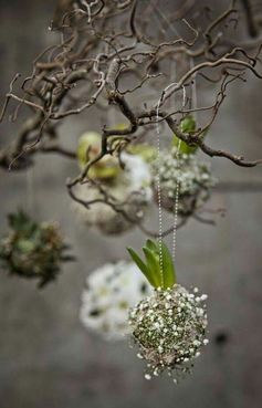 Spring Decorations   Natural Decorations   Via KUKKALA
