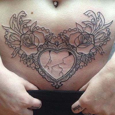 Celebrity tummy tuck tattoos cover
