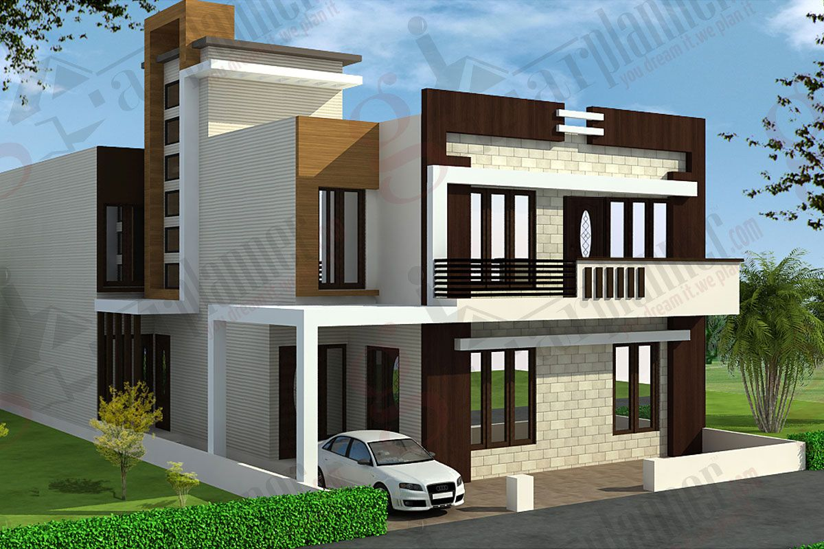 House plan house elevation indian pinterest house for Individual house front elevation