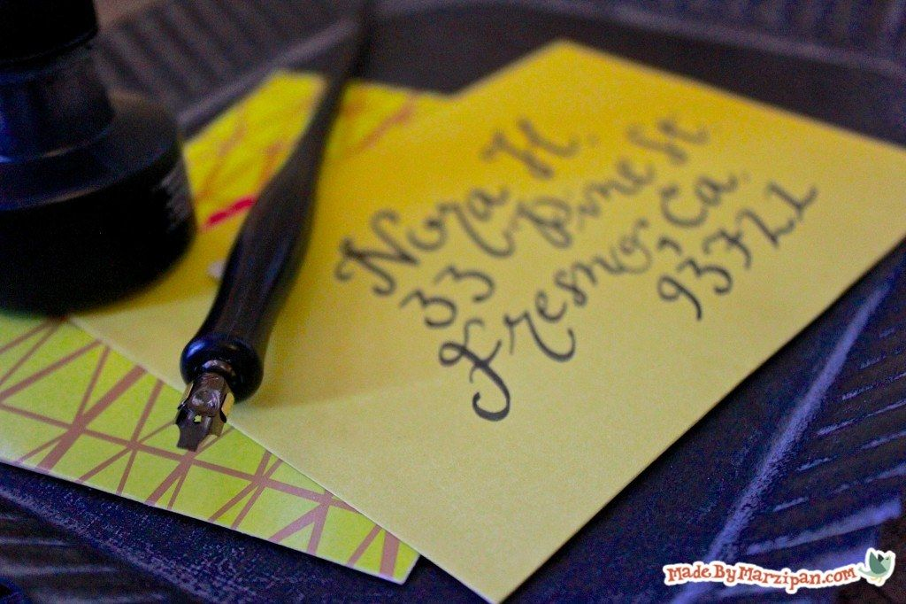 Intro to Dipping Pen Calligraphy - Made By Marzipan