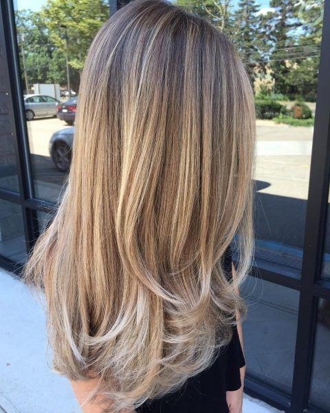 90 wunderschöne geschichtete Haarschnitte für langes Haar #longlayeredhaircuts