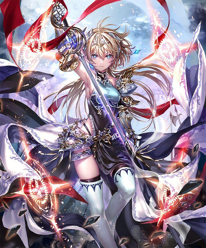 Shadowverse On Twitter Anime Warrior Anime Art Girl Anime Characters