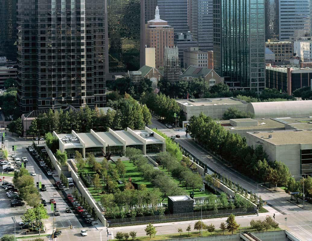 Nel 2003 Inaugura Il Nasher Sculpture Center A Dallas