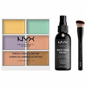 NYX Maquillage professionnel Nouvel An visage Must Haves Set - Exclusive