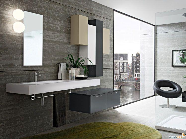80 Magnifici Mobili Bagno Sospesi Dal Design Moderno