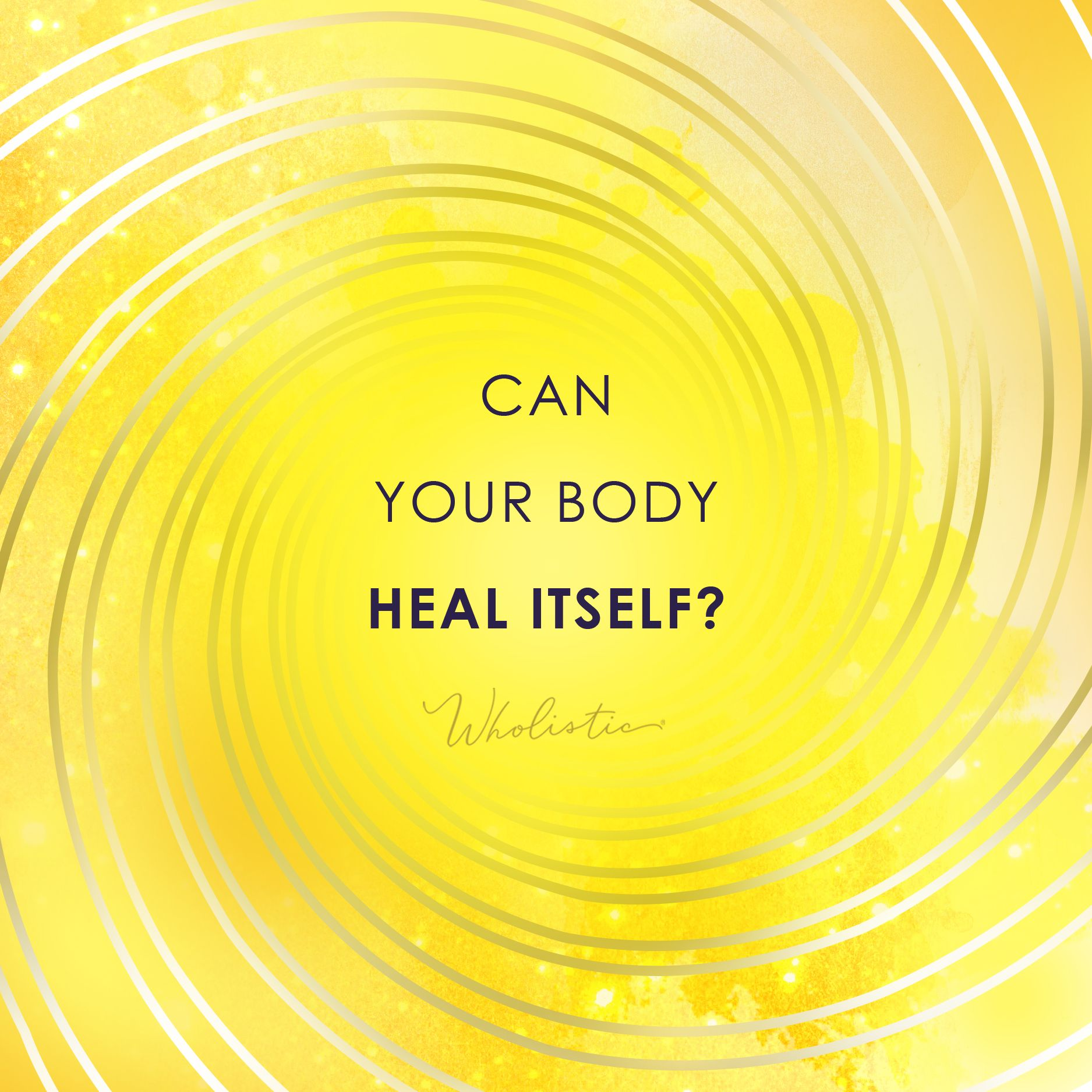 Can Your Body Heal Itself