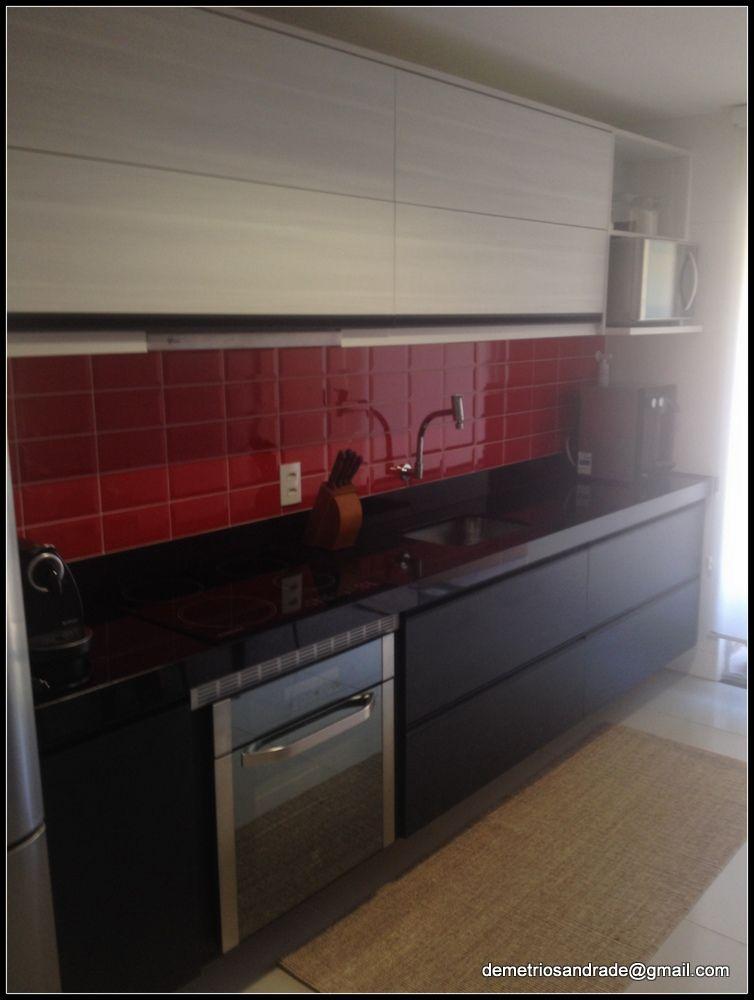 Cozinha feita em parceria com o arquiteto Adriano Tavares, moveis Dell Anno 21 9 8302-9119