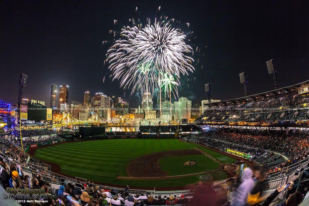 Image result for PNC PArk fireworks show
