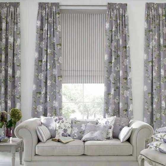 Los m s modernos modelos de cortinas para tu living for Cortinas grises modernas