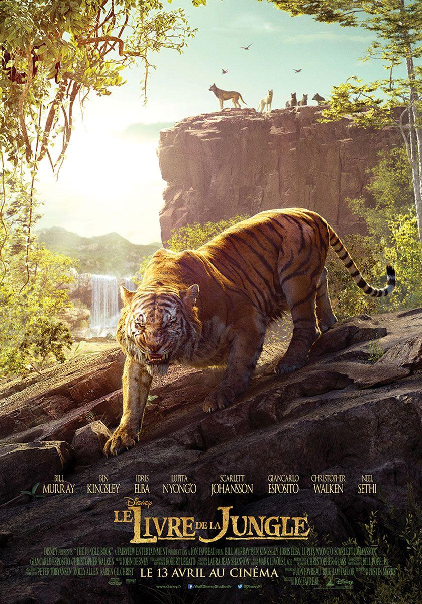 Affiche Du Film Le Livre De La Jungle Jungle Book Movie Jungle Book Disney Jungle Book 2016
