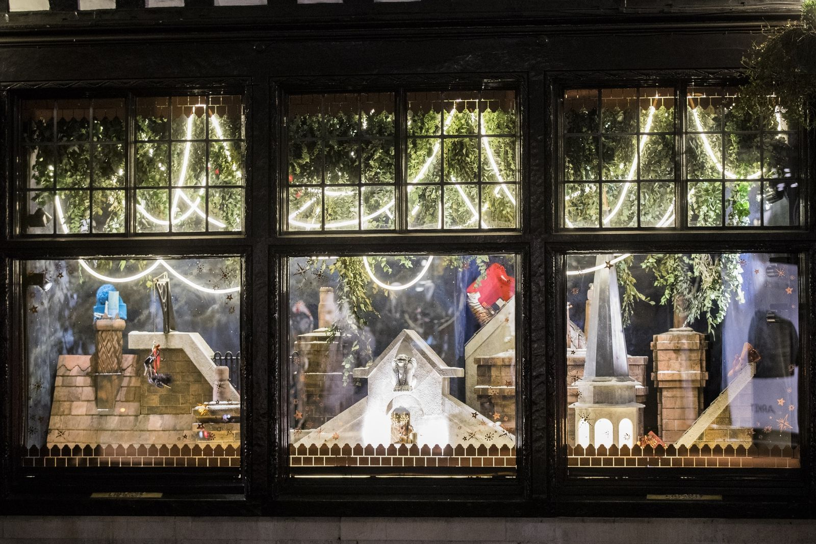 The Best Christmas Window Displays From The Uk Capital London Christmas Christmas Window Display Winter Window Display