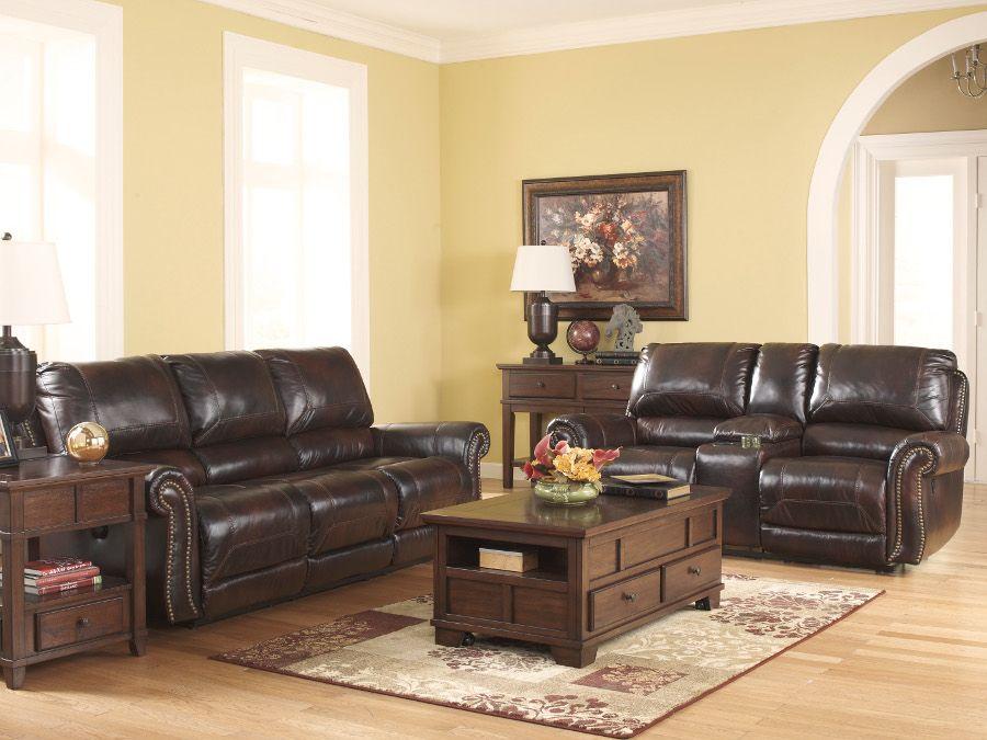 dexpen saddle power recliner sofa & loveseat #loveseat #livingroom
