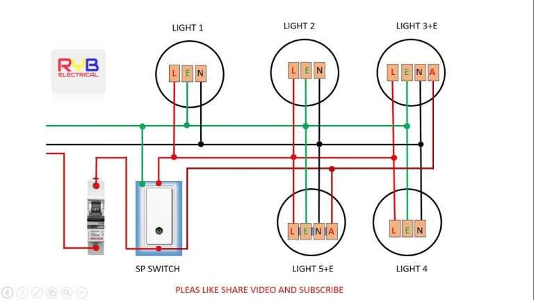 Electric Light Wiring Diagram Australia, House Wiring Diagram Australia