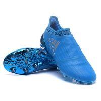 Adidas X 16+ Purechaos FGAG Blue 3   Chaussures à crampons