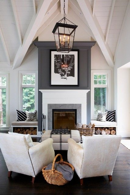 Private Cottage, Muskoka Photographed by Angus Fergusson Living