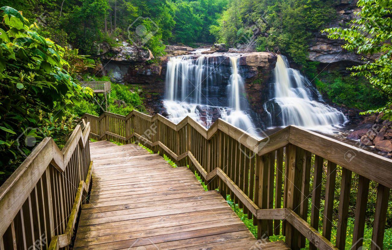 West Virginia Blackwater Falls S P Blackwater Falls State Park Blackwater Falls State Parks