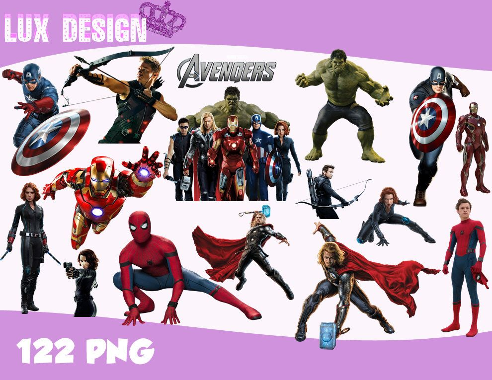 122 The Avengers Clipart Png Images 300dpi Digital Clip Art Etsy Clip Art Digital Clip Art Png Images