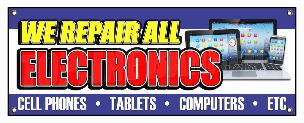 We Repair All Electronics Banner Repair Electronics Banner
