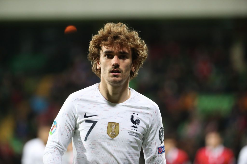 The frenchman's preparation for the tournament was disrupted as he fell out with. Antoine Griezmann of France reacts during the 2020 UEFA ...