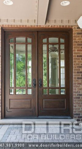 Double Door Clear Beveled Gl W Praise Grills Pre Hung Prefinished Custom Wood Front Entry Doors From For Builders Inc