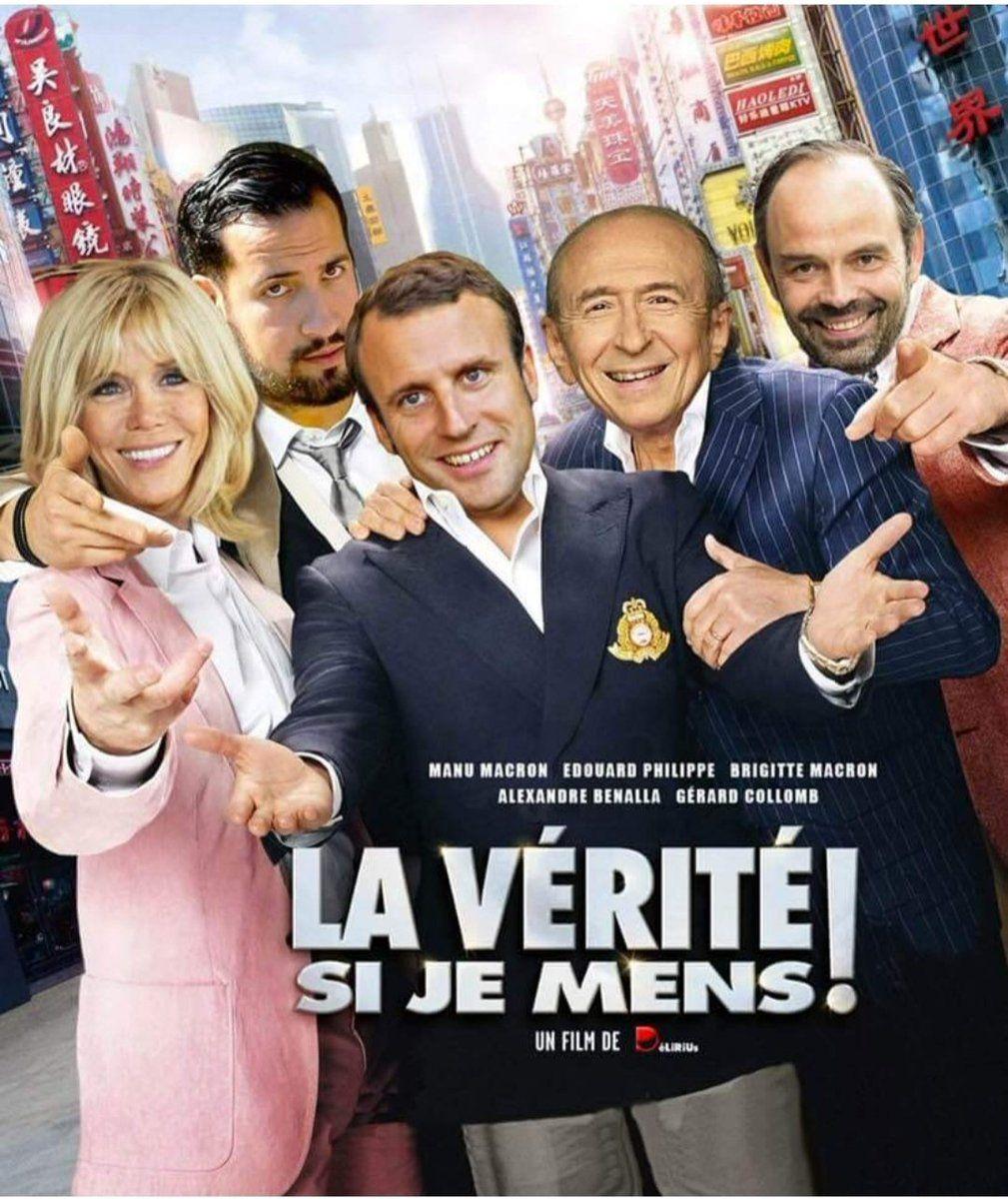 Manu Macaron Brigitte macron, Film