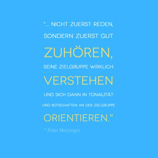 #Zitat #Zuhören #Inspiration #Weisheit #Marketing #