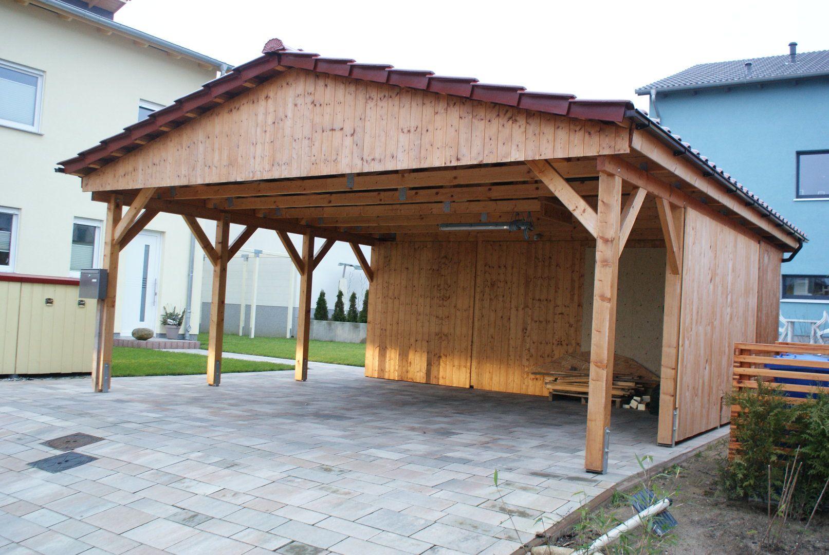 Carport Holz Satteldach Bausatz In 2020