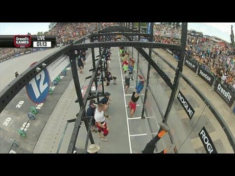 CrossFit - NorCal Regional LIve Footage: Men's Event 6