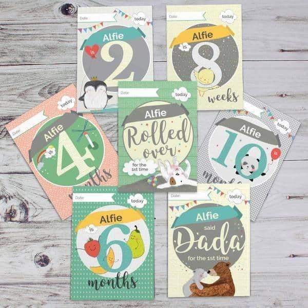 Baby Milestone Moment Cards  #mumsetc