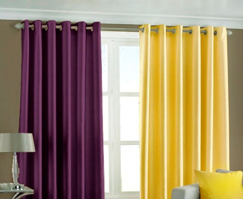 Purple And Yellow Kitchen Curtains Ideas Becouz