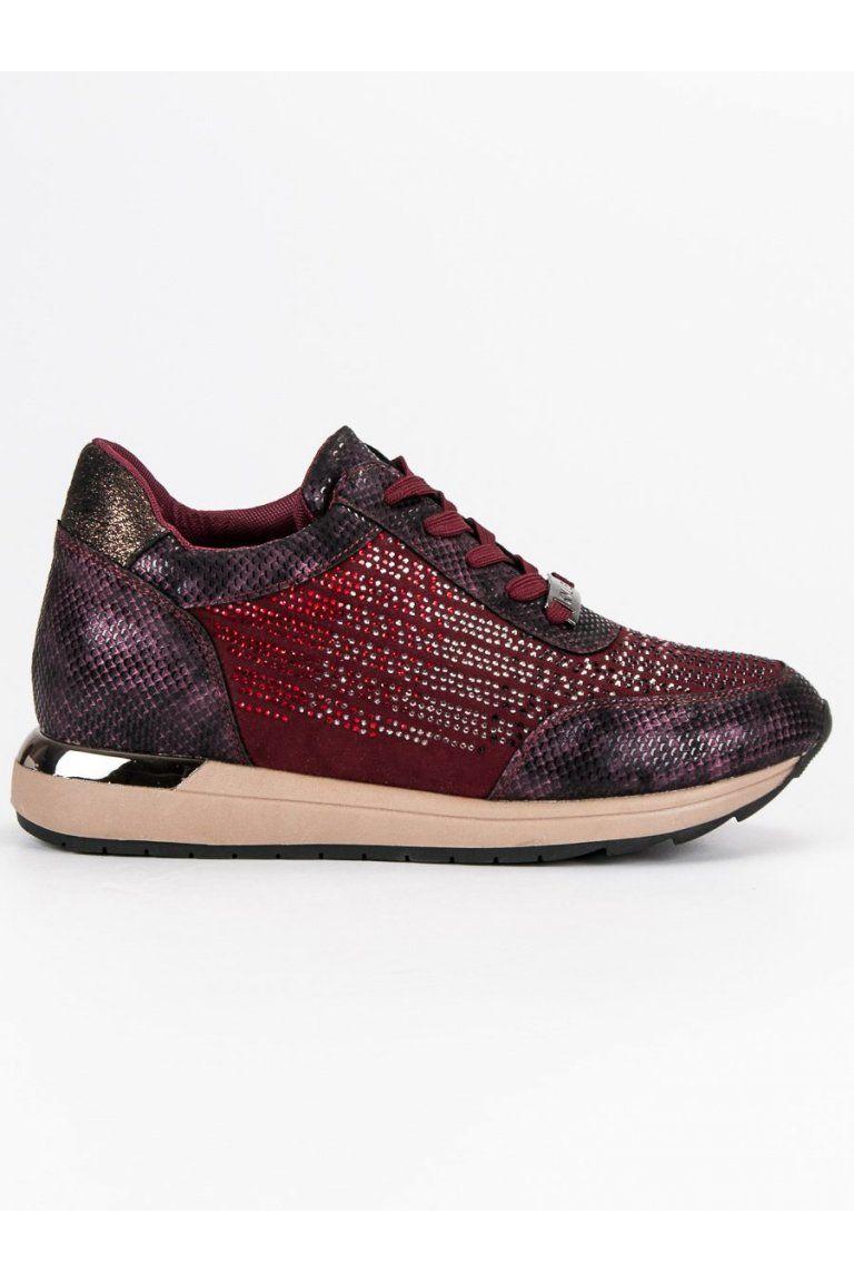 a0ef901d5 Módna športová obuv červené tenisky Kylie v roku 2019 | Tenisky - NAJ.SK |  Sneakers, Shoes a Fashion