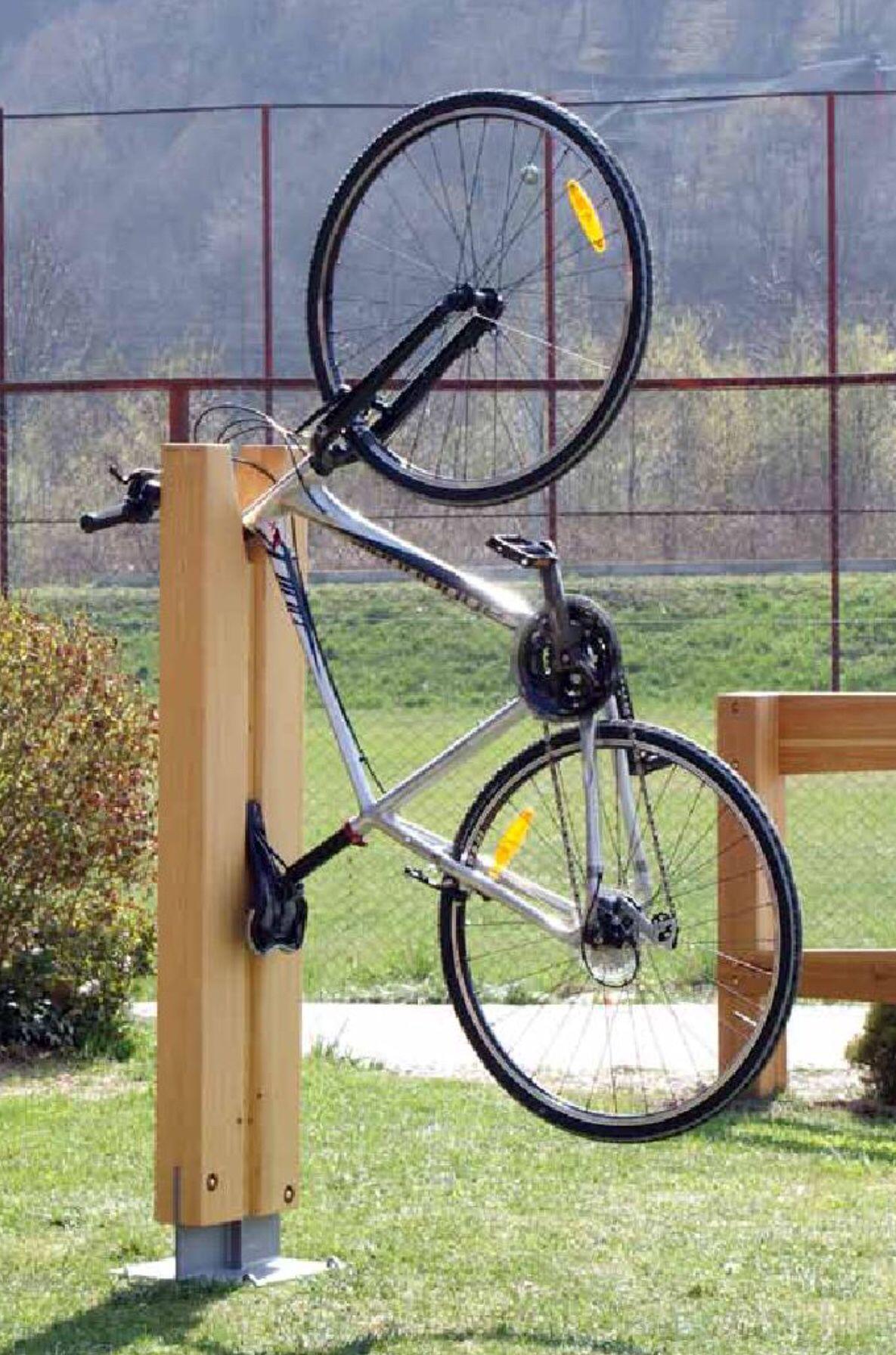 Fahrradstander Diy Fahrradtrager Holzpaletten Basteln