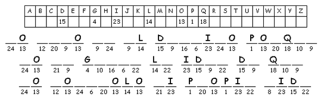 Pasatiempos Para Imprimir Criptograma Nº 73 Centros De Matemáticas Ejercicios De Memoria Crucigramas