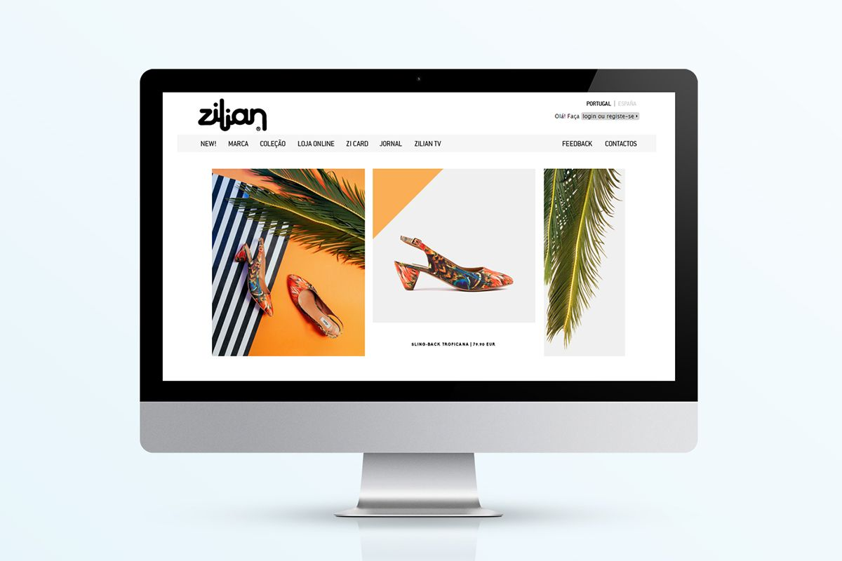 Zilian Exotic Drops - Art Direction on Behance