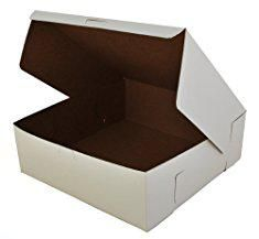 Bulk Cake Boxes Southern Champion Tray 0985 Premium Clay Coated Kraft Paperboard White Non Window Lock Corner Bakery Box 12 Bakery Box Box Cake Corner Bakery