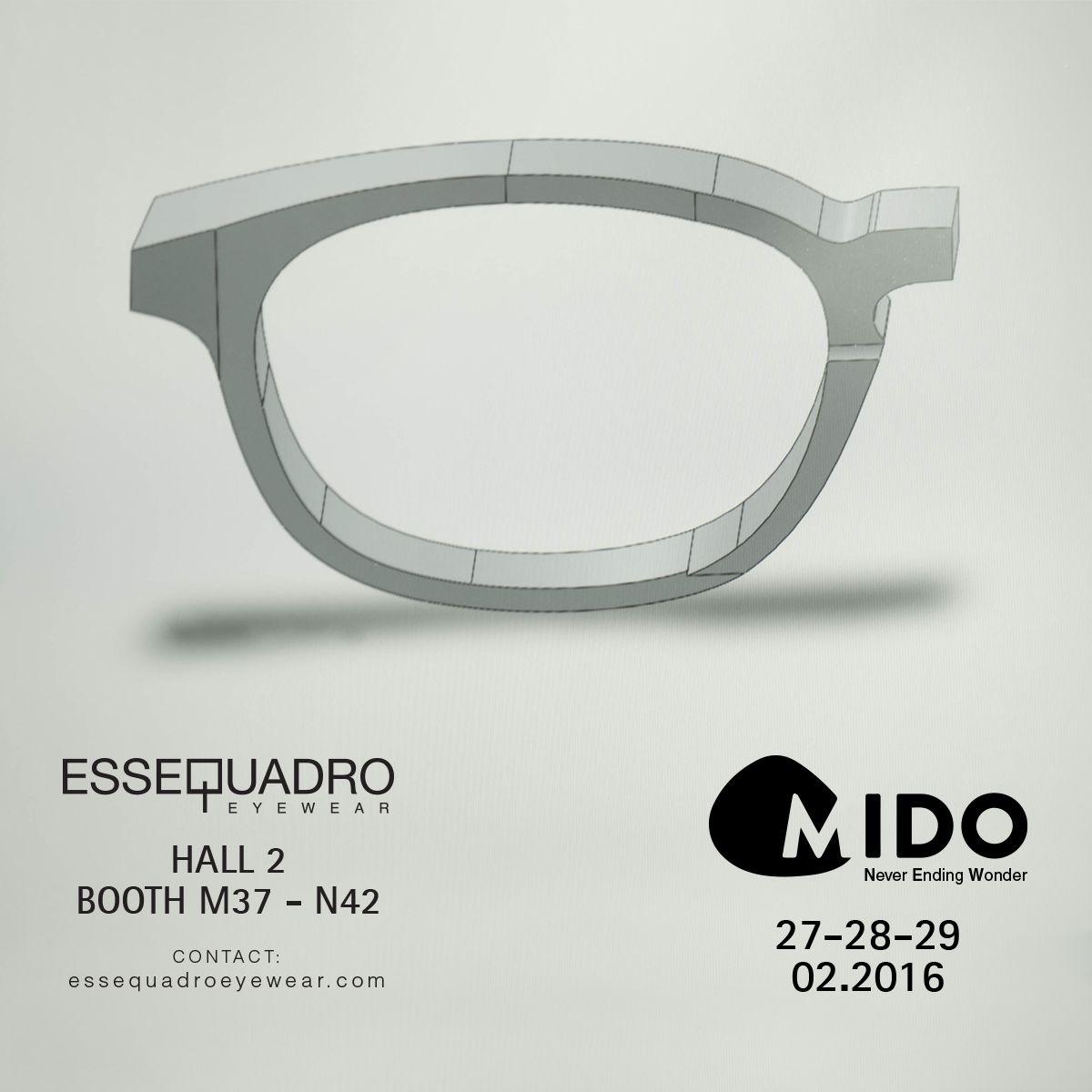 3f357beeb48 MIDO 2016  mido  essequadro  essequadroeyewear  eyewear  sunglasses  factory   handmade