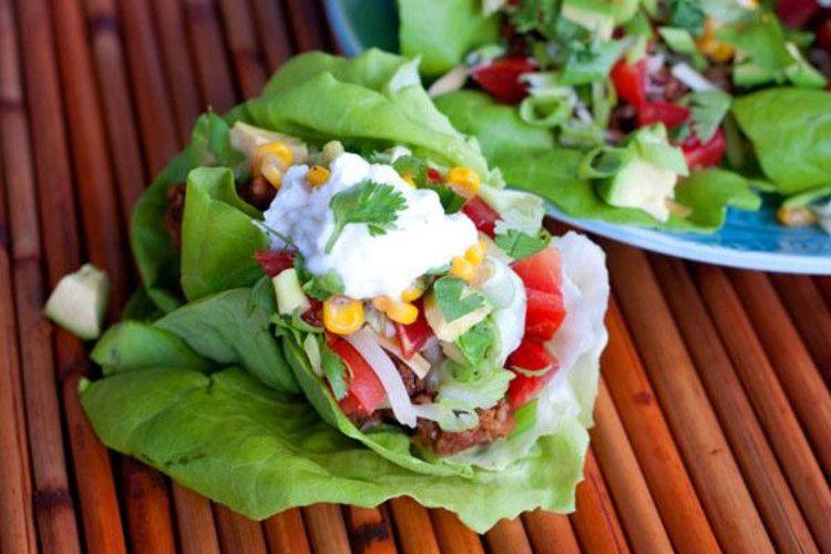 A healthier take on burritos
