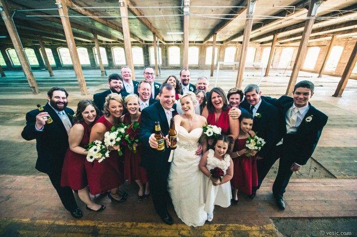 Revolution Mill Studios Wedding