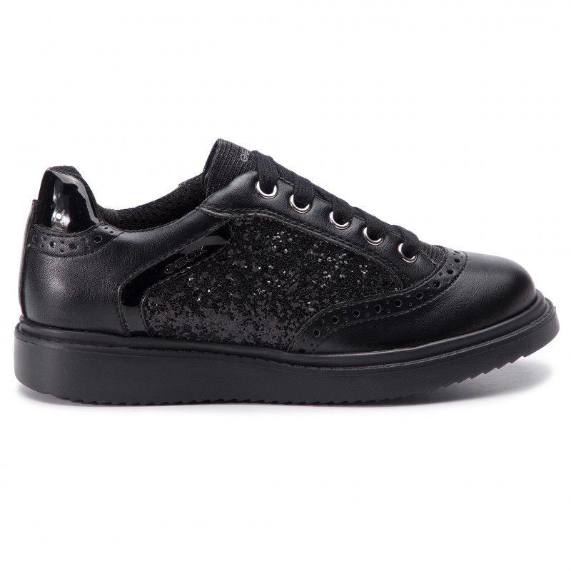Polbuty Geox J Thymar G F J844ff 0bcew C9999 S Black Sznurowane Polbuty Dziewczynka Dzieciece Www Eobu Boys Shoes All Black Sneakers Black Sneaker