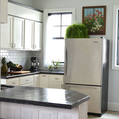 Easy DIY Concrete Counters: The Missing Link. | Diy ...